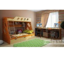 Комната для 2х детей - Фанки 16 + стол письменный 13/51СВ