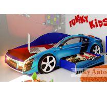 Кровать-машина Ауди Фанки Кидз 190х80 см.- цвета на выбор