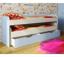 Низкая двухъярусная кровать Фанки Кидз 8