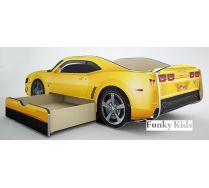 Кровать-машина для детей Камаро Шевроле со спальным местом 190х80 см