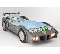 Кровать машина МАКЛАРЕН спальное место 170*80 цвет мокрый асфальт