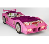Кровать машина МАКЛАРЕН спальное место 170*80 цвет розовый