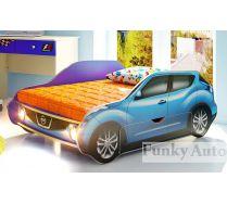 Детская кровать-машина Ниссан Жук Фанки с выдвижным ящиком