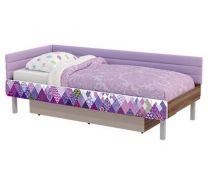 Кровать серии Слеш сп.место 190х80 см