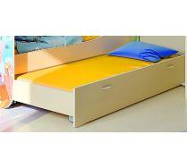 Кровать нижняя выкатная Русалочка