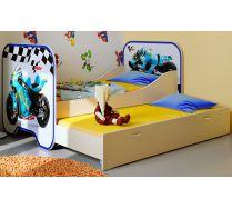 Кровать КР-6 Мотогонки 190х80 см