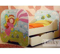 Кровать детская Фея Кр-6 с выдвижными ящиками