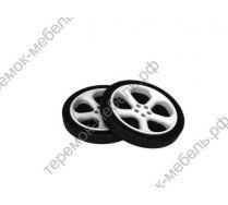 Комплект объемных пластиковых колес - 2 шт.