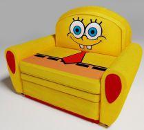 Детский диван кровать Спанч Боб