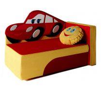 Детский диван-кровать Молния Маккуин цвет: красный