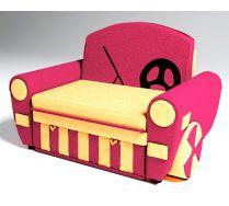Детский диван кровать Бумер цвет: розовый