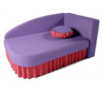 Детский диван кровать Аленка цвет: сиреневый