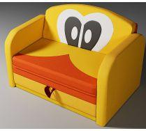 Детский диван кровать Дональд желтый