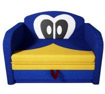 Детский раскладной диванчик Дональд синий