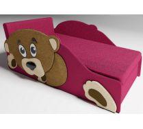 Детский диван-кровать Тедди две декорированные боковины