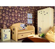 Выкатной диван Далматинец + серия мебели Фанки Бэби Далматинец