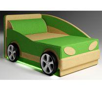 Детский диван Авто-Мини - базовая комплектация и подсветка