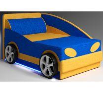 Детский диванчик Авто-Мини - базовая комплектация, цвет: синий