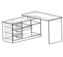 Комод-стол Пиксель