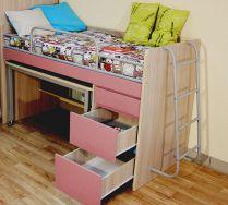 Кровать чердак МиниМакс