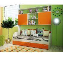 Мебель для детей Фанки Кидз 13/62 мост надкроватный + 13/7 кровать