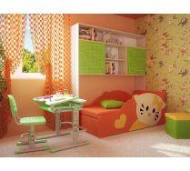 Комната детская Фанки Кидз 13/62 мост надкроватный + Кити диванчик + Фанки Деск парта