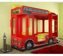 Детская двухъярусная кровать в виде автобуса Лондон