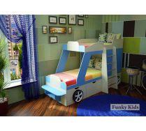 Двухъярусная кровать-машина Джип Фанки Кидз