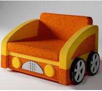 Детский диван Багги с двумя объемными колесами