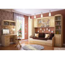 Детская модульная мебель - Фанки Крем - для девочки