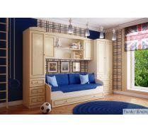 Детская модульная мебель Фанки Крем - для мальчика
