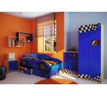 Кровать Фанки Тесла + мебель Фанки Авто