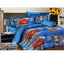 Комплект детского постельное белья Феррари 5D