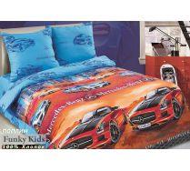 Постельное белье для детских кроватей Спорт Кар