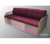 Две диванные подушки и покрывало Фанки Кидз