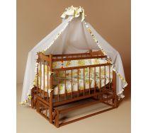 Кровать для новорожденного ребенка Funky Little (Фанки Литл) с маятником