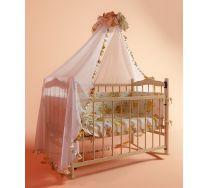 Кровать для новорожденных с матрацем в комплекте автостенка Funky Little (Фанки Литл)