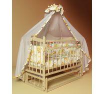 Кровать для новорожденных с поперечным маятником Funky Little (Фанки Литл)