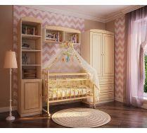 Кровать для новорожденных Фанки Литл + мебель Фанки Крем