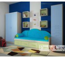 Детская мебель Фанки Сити композиция 3