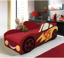 Кровать Молния Маквин арт. 30001 с одной декорированной боковиной