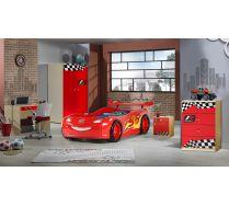 Детская комната Молния Маквин арт.20008 + Фанки Авто цвет красный