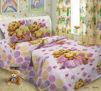Детское постельное белье Мишка Тедди полутороспальное