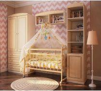 Мебель детская Фанки Крем + кроватка для новорожденных Фанки Литл