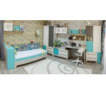 Готовый комплект мебели для детей и подростков  серия Индиго