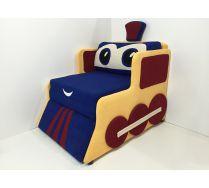 Диван-кровать Паровоз для детей, арт. 30007
