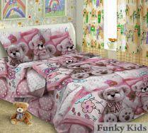 Постельное белье для детских кроватей Мишки NEW, 100% хлопок