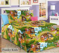 Маша и медведь NEW - детское постельное белье, 1.5 спальное, бязь