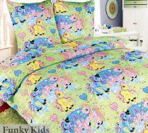 Комплект постельного белья для девочек Чудо-пони, бязь