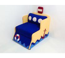 Диван-кровать Кораблик для детей, арт. 30008